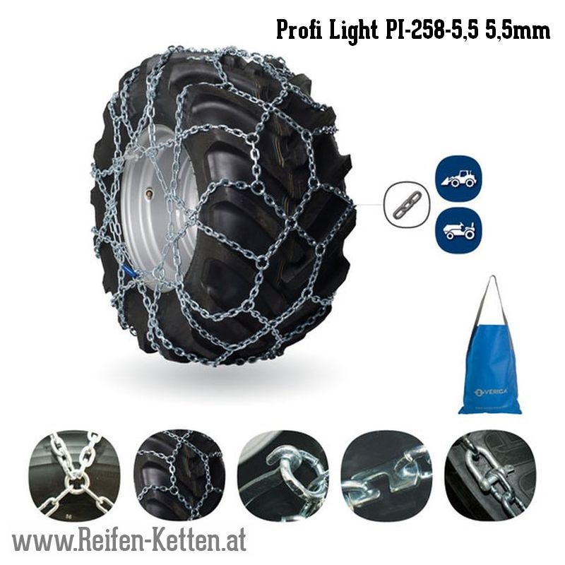 Veriga Profi Light PI-258-5,5 5,5mm