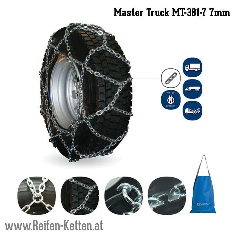 Veriga Master Truck MT-381-7 7mm