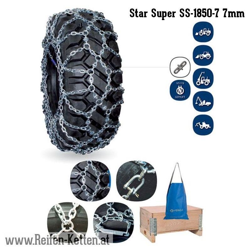 Veriga Star Super SS-1850-7 7mm
