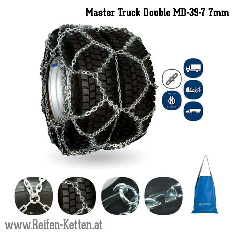 Veriga Master Truck Double MD-39-7 7mm