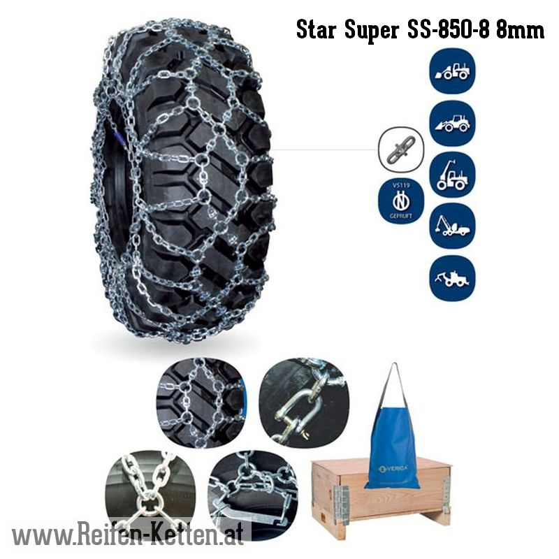 Veriga Star Super SS-850-8 8mm