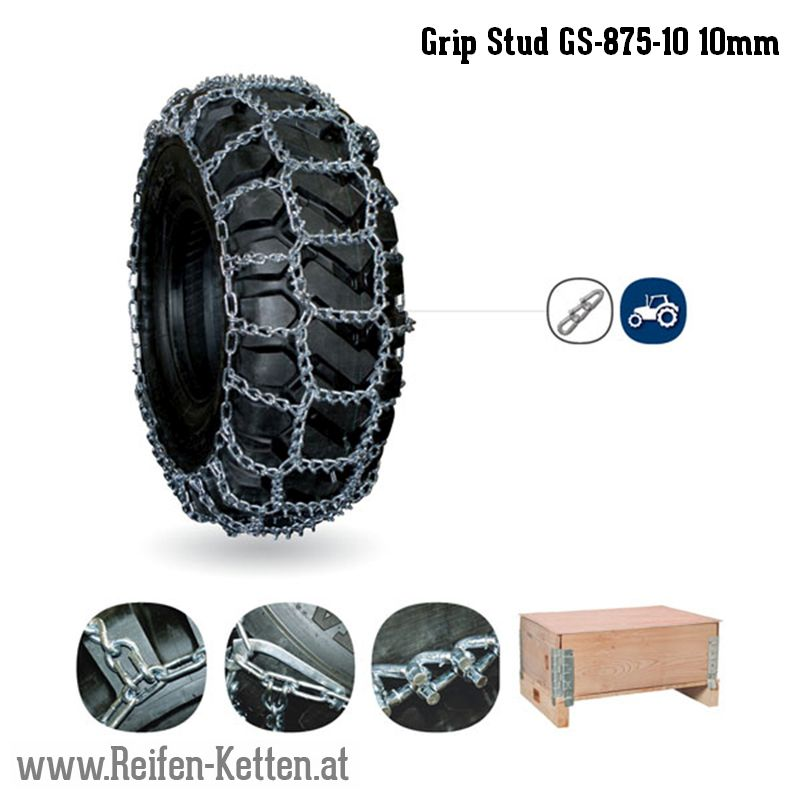 Veriga Grip Stud GS-875-10 10mm