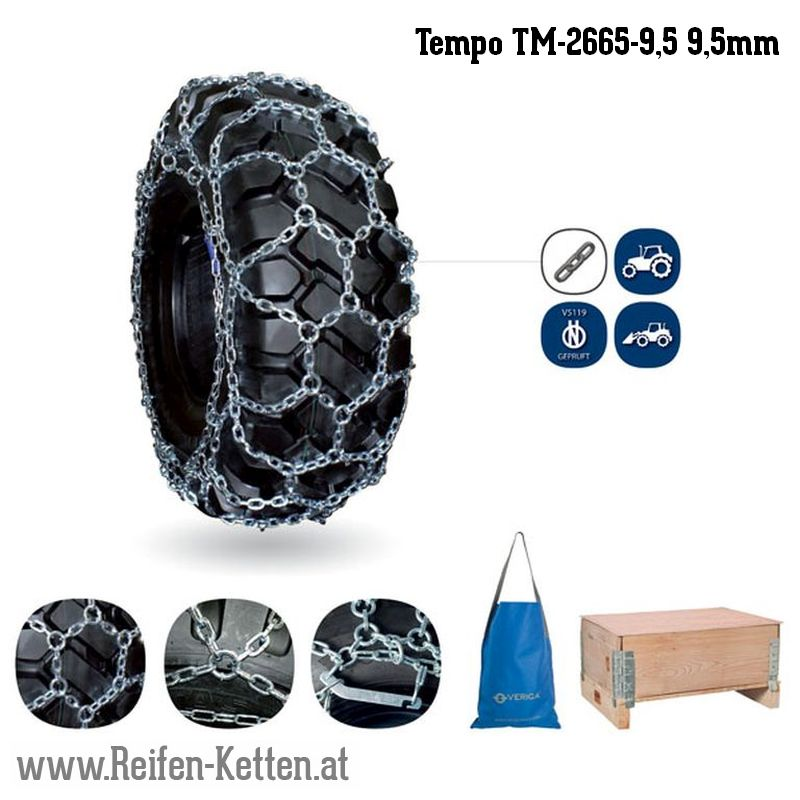 Veriga Tempo TM-2665-9,5 9,5mm