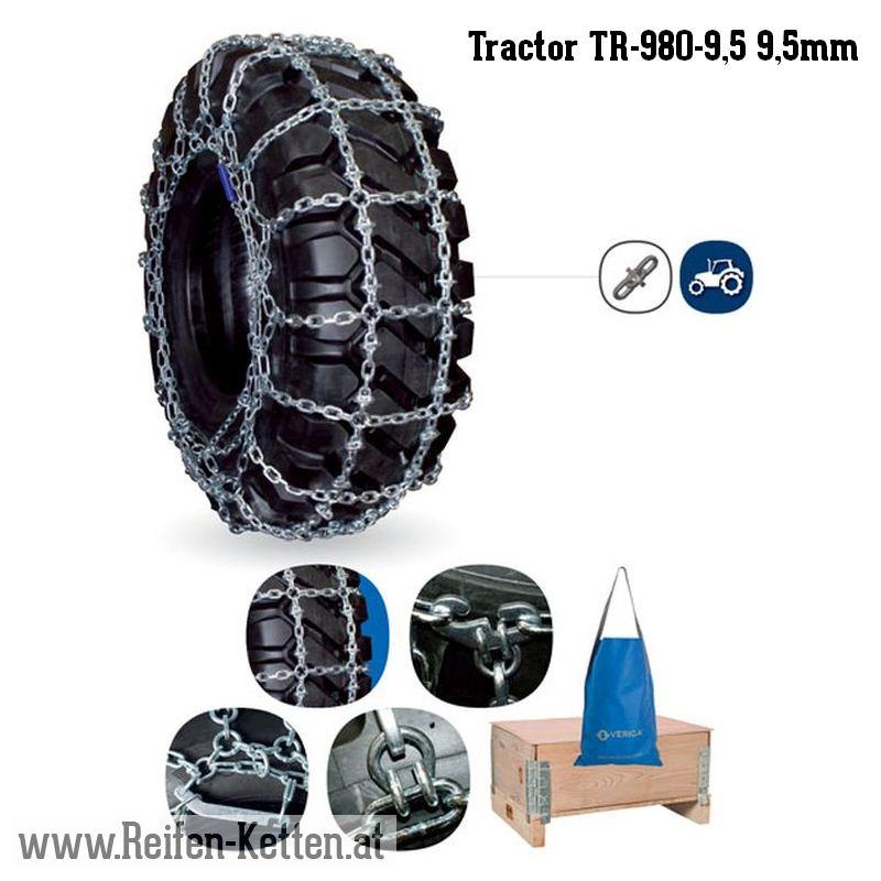 Veriga Tractor TR-980-9,5 9,5mm