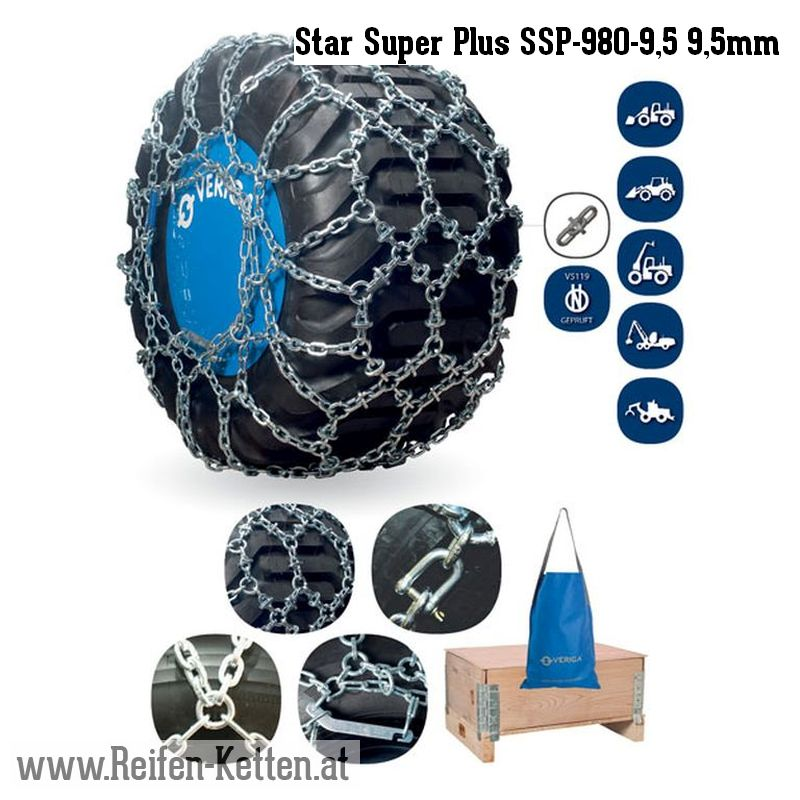 Veriga Star Super Plus SSP-980-9,5 9,5mm
