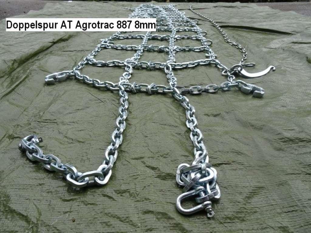 König Schneekette Doppelspur AT Agrotrac 887 8mm