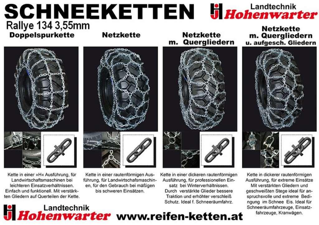 König Schneekette Rallye 134 3,55mm