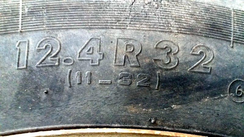 Kock Zwillräder 12.4 R 32