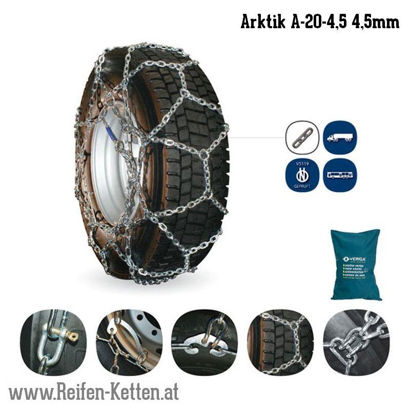 Veriga Arktik A-20-4,5 4,5mm