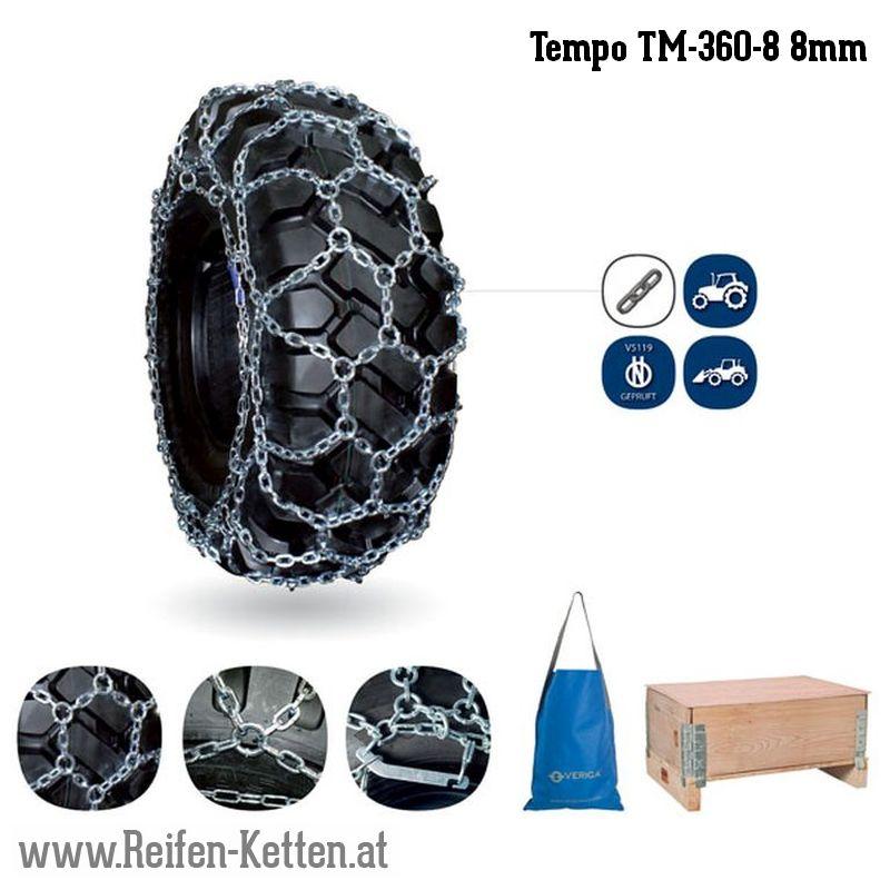 Veriga Tempo TM-360-8 8mm